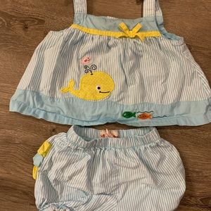 Toffee Apple baby girl matching set